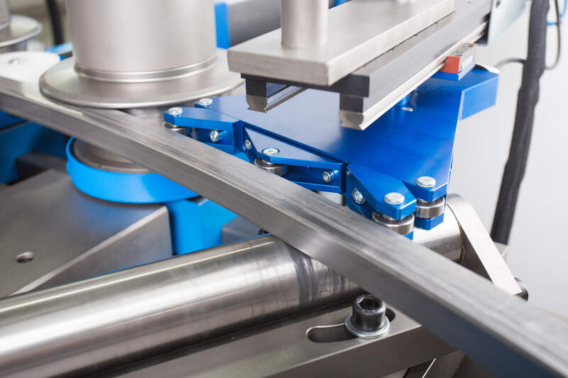 PBT Automatic radius measuring system for PBT profile bending machines - Detail